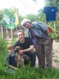 Зарубіжні гості в притулку, липень 2011 р.