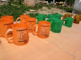 Асортимент чашок на святкуванні ювілею Гостомельського притулку